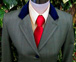 J 07 green tweed with feint gold, dark red and black overcheck.JPG