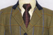 J 86 greeny golden tweed with bold navy, royal blue, pale blue,burgundy, gold and rust  overcheck.jpg