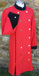 Red double breasted coat dress with navy velvet trim.jpg