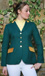 SJ 05 green jacket with gold velvet trim and gold piping.jpg