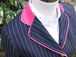 SJ 55 (Navy with White Pinstripe and Cerise Velvet trim).JPG