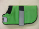WDC 02  Lime Green with black piping lined with black fleece.JPG