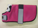 WDC 04 Hot pink with black piping Lined with black and white fleece.JPG