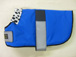 WDC 07  Royal blue with black piping Lined with dalmation fleece.JPG