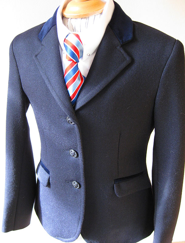 Navy, Black & Pinstripe Show Jackets Link